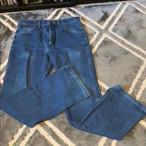 Vintage inspired Wrangler dark jeans